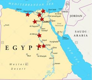 Centers map
